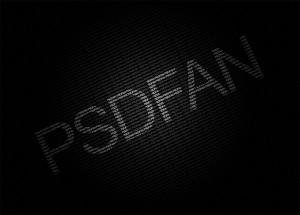 Simple & Professional Typographical Design by PSDFAN